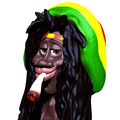 Rasta Man Marijuana Caricature 3d - PhotoDune Item for Sale