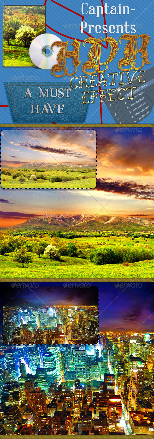 GraphicRiver HDR Creative Effect 7450258