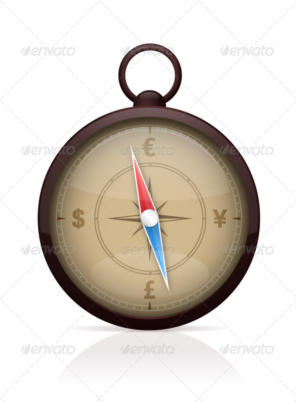 GraphicRiver Currency Compass 7462509