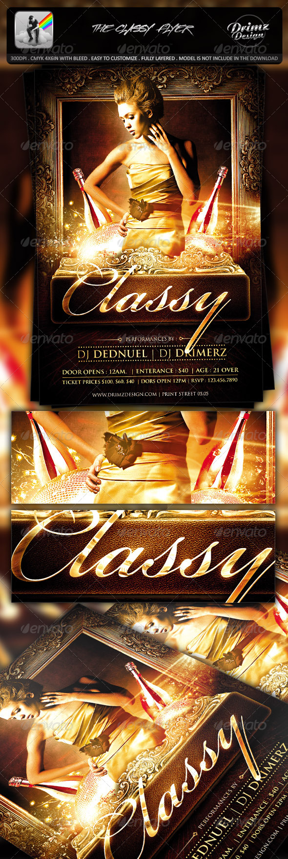 GraphicRiver The Classy Flyer 7464326