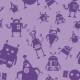 Robot Seamless Pattern - GraphicRiver Item for Sale