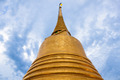 chedi gold in temple Bangkok Thailand - PhotoDune Item for Sale