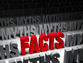 Bright Facts Vs Dark Myths - PhotoDune Item for Sale