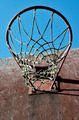 closeup of basketball backboard and hoop outdoor - PhotoDune Item for Sale