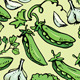 Set of Seamless Patterns with Delicious Vegetables - GraphicRiver Item for Sale