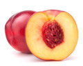Nectarine fruit isolated on white background cutout - PhotoDune Item for Sale