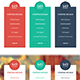 Flat & Modern Pricing Table Set (24 Variations) - GraphicRiver Item for Sale