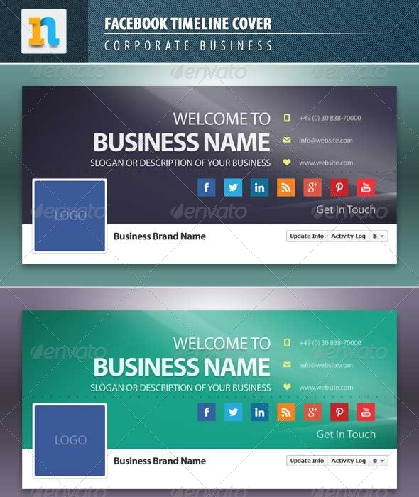 GraphicRiver Facebook Cover Photo Corporate 7448372