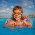 Child in swimming pool - PhotoDune Item for Sale