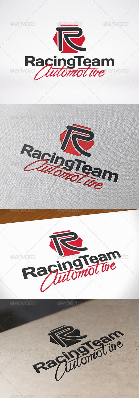 GraphicRiver Rapid Letter R Logo 7469476
