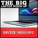 The Big Laptop Mock-up - GraphicRiver Item for Sale