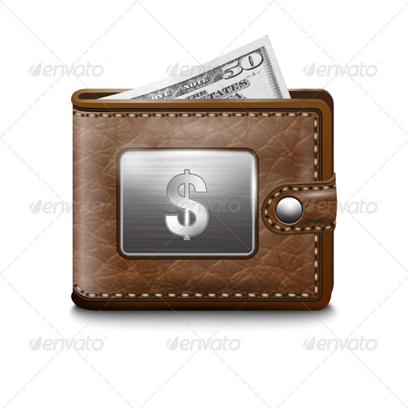 GraphicRiver Wallet Dollar USA 7472798