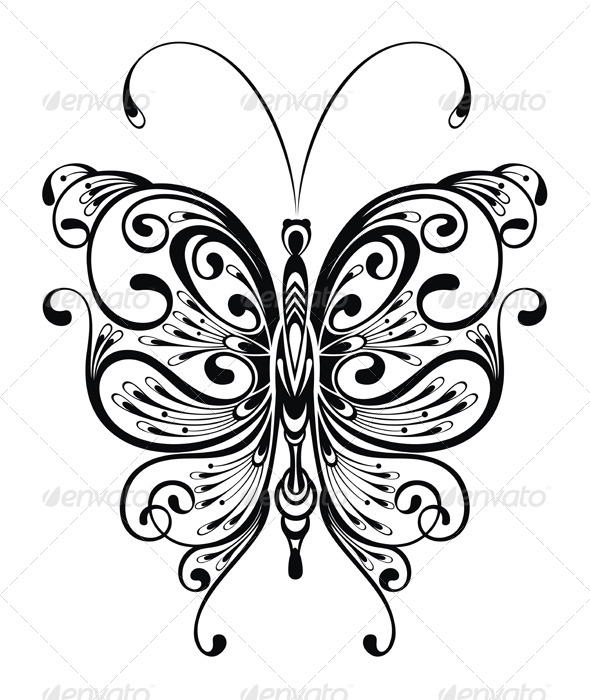 GraphicRiver Butterfly 7474790