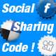 social sharing and bookmarking  from flash - class - ActiveDen Item for Sale