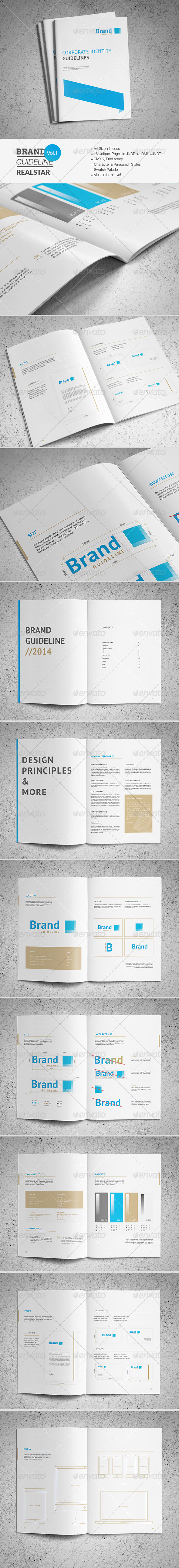 GraphicRiver Brand Guideline Template 7480156