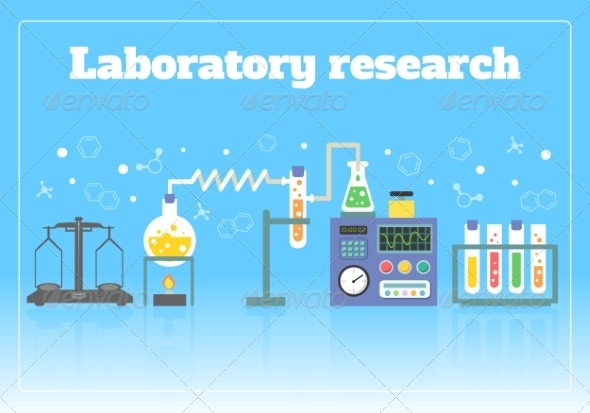GraphicRiver Laboratory Research Concept 7480247