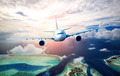 Passenger Airliner in the sky - PhotoDune Item for Sale
