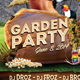 Garden Party Flyer - GraphicRiver Item for Sale