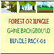 Forest or Jungle Game Background Bunddle - GraphicRiver Item for Sale