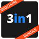 3in1 Catalog/Brochure Bundle - GraphicRiver Item for Sale