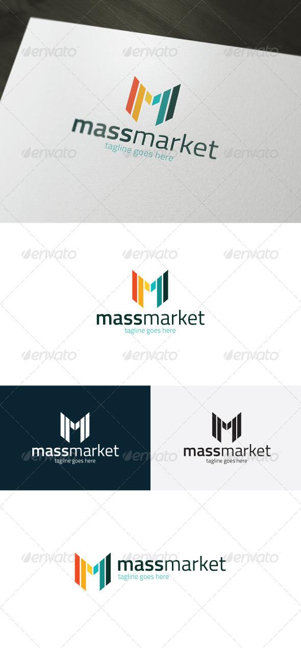 GraphicRiver Mass Market Logo Letter M 7483908