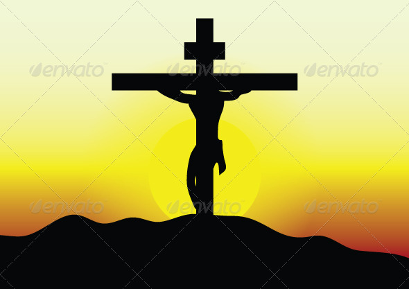 GraphicRiver Jesus on the Cross 7484547