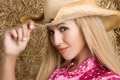 Cowgirl Wearting Hat - PhotoDune Item for Sale