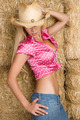 Cowgirl in Hay - PhotoDune Item for Sale