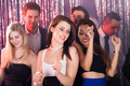 Women Dancing With Friends At Nightclub - PhotoDune Item for Sale