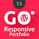 Go - Responsive Portfolio for WP - CodeCanyon Item for Sale