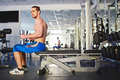 Man training in gym - PhotoDune Item for Sale