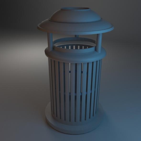 3DOcean Trash Bin 03 7486312