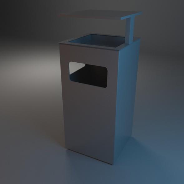 3DOcean Trash Bin 04 7486315