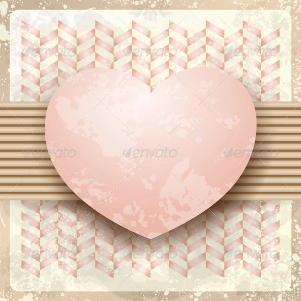 GraphicRiver Heart Background 7488309