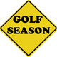 golf season sign - PhotoDune Item for Sale