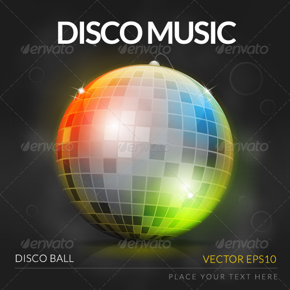 GraphicRiver Disco Music 7489436