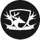 Deer King Logo Template - GraphicRiver Item for Sale