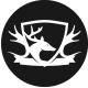 Deer King Logo Template - GraphicRiver Item for Sale