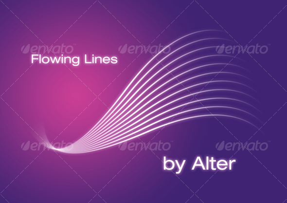 GraphicRiver Flowing Lines 31792