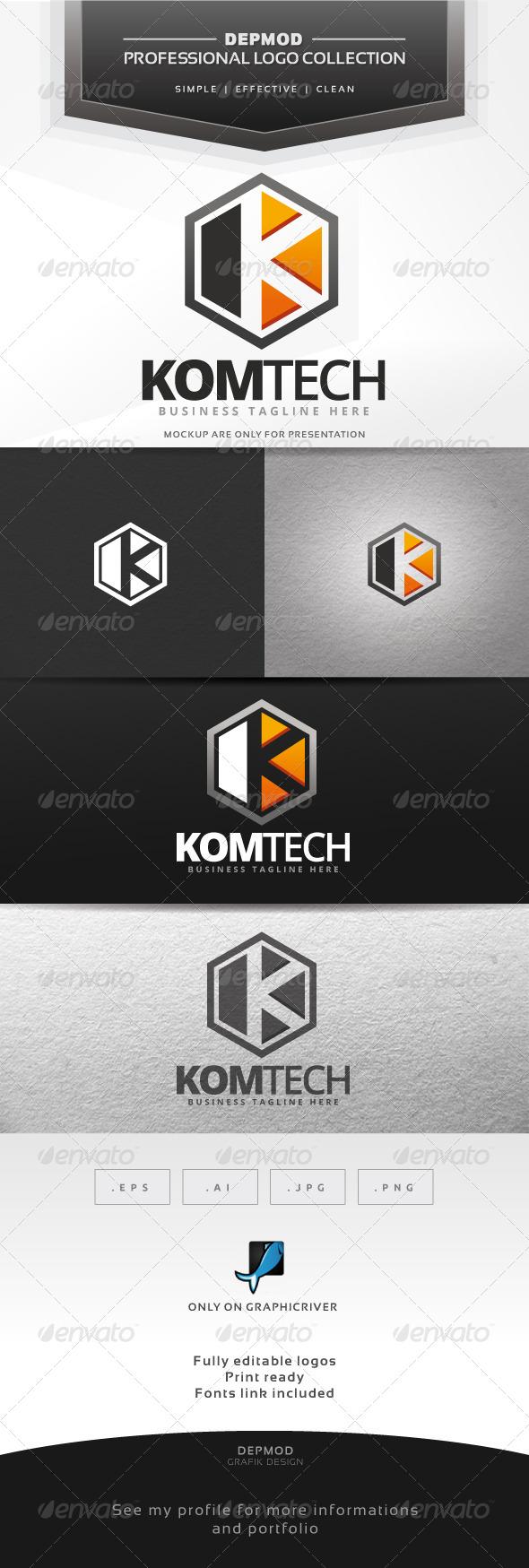 GraphicRiver Komtech Logo 7490241