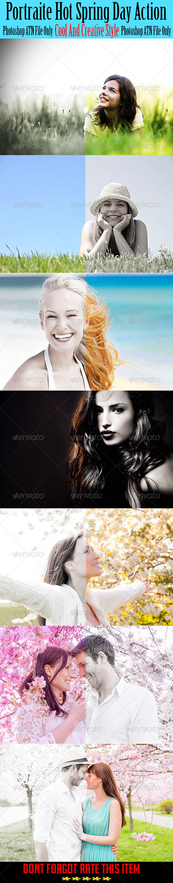 GraphicRiver Portraite Hot Spring Day Action 7474678