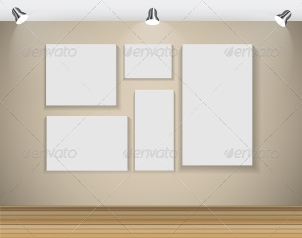 GraphicRiver Frame on Wall for Your Text and Images 7492443