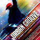 Urban Groove Dance Competition Flyer - GraphicRiver Item for Sale