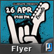 Rock On Flyer Template - GraphicRiver Item for Sale