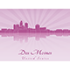 Des Moines Skyline - GraphicRiver Item for Sale
