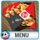 Restaurant Menu - GraphicRiver Item for Sale