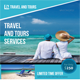 Travel Tours Flyers Template  - GraphicRiver Item for Sale