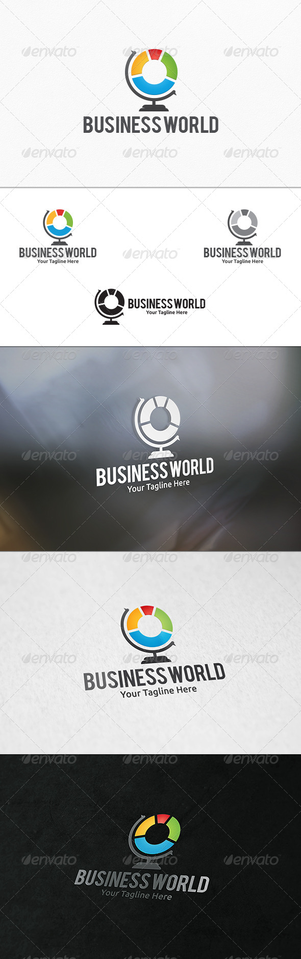 GraphicRiver Business World Logo Template 7497743