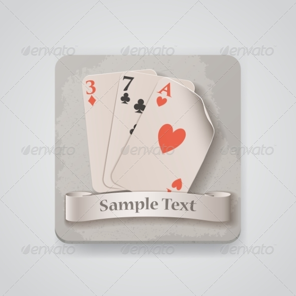 GraphicRiver Playing Cards Icon 7499108