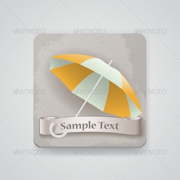 GraphicRiver Umbrella Icon 7499137